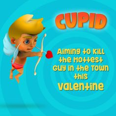 Terrorist On Loose: People spot a little half naked wing man armed with bow and arrow. He's here to kill the hottest guy in love town.  Will he die?   Connect with us to find out!  #ingic #mobileapp #mobilegame #fredupoflove #cupid #loveisintheair #valentinesday #valentinesday2017