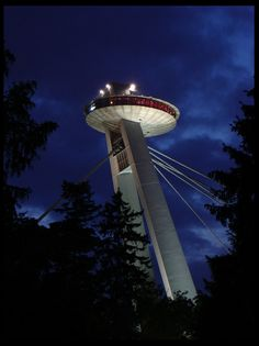 UFO Restaurant, New Bridge, Bratislava, Slovakia Bratislava Slovakia, Continental Europe, Heart Of Europe, Big Country, Central Europe, City Break, Train Travel, Eastern Europe, Capital City