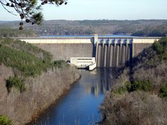 Greers Ferry Dam - Heber Springs, Arkansas Places To Travel, Places To See, Places Ive Been, Heber Springs, Panama Canal, Home And Away, Arkansas, Opportunity, Trips