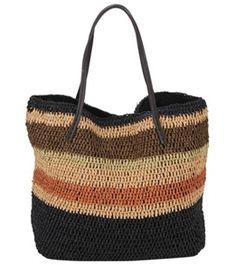 Sun N Sand Acapulco Cliff Crochet Shoulder Tote