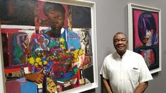 We caught up with the legend himself David C Driskell yesterday at Art Basel. Still creating and looking great in his 80's now. Give it up for those that have paved the way for so many of us In the arts. #Doyoubasel #blackandbasel #artbasel