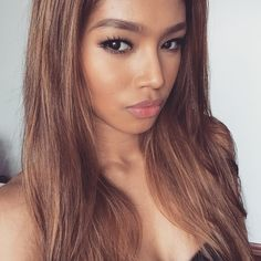 gorgeous selfie w/ fiercest eyebrows by Filipino-Chinese ring card girl, Red Dela Cruz : if you love #MMA, you'll love the #UFC & #MixedMartialArts inspired fashion at CageCult: http://cagecult.com/mma