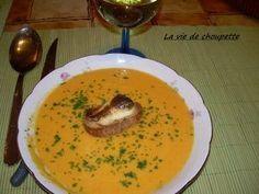 Veloute de carottes au curry et au cumin, Recette Ptitchef