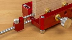 Dowel Jig, Wood Pieces, Office Supplies, Woodworking, Joinery, Woodworking Jigs, Woodworking Crafts, Carpentry, Wood Working