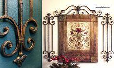 Tuscan design – Mediterranean Home Decor Tuscan Wall Decor, Dining Room Wall Decor, Family Room Decorating, Tuscan Decorating, Decorating Ideas, Decor Ideas, Tuscan Design, Tuscan Style, Courtyard Design