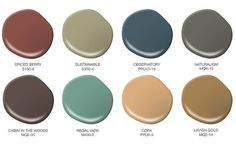 Colorfully, BEHR :: Harvest Colors