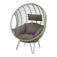 Heerlijke loungestoel van H 141 x B 107 x D 84 cm