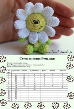 Stuffed Toys Patterns Crochet Patterns Amigurumi Crochet Flower Patterns Crochet Flowers Amigurumi Doll Crochet Animals Sock Animals Easter Crochet Crochet For Kids Crochet Flower Tutorial, Crochet Flower Patterns, Crochet Toys Patterns, Stuffed Toys Patterns, Crochet Flowers, Crochet Sunflower, Crochet Cactus, Easter Crochet, Crochet Baby