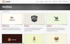 - http://golumo.com/ designer with logo design portfolio