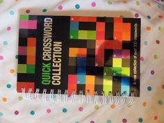 Quick Crossword Collection book. Over 300 puzzles. Brand new