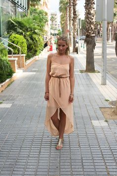 Zara maxi dress #outfit #maxidress