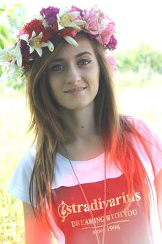 bianca adam 2015 - Căutare Google Tequila, Flower Power, Youtubers, Crown, Flowers, Google, Ali, Fashion, Photos