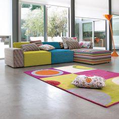 Linea Italia - Composizione Kube | Anno: 2010 | Materiali Tessuto | #design #multicolour