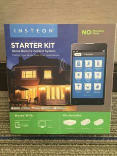 INSTEON Starter Kit Home Remote Control System - http://electronics.goshoppins.com/home-automation/insteon-starter-kit-home-remote-control-system/