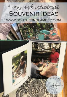 4 easy and inexpensive souvenirs that won't clutter your home or RV. Souvenir Display, Souvenir Ideas, Small Campers, Simple Sentences, Travel Souvenirs, The Way Home, Photo Journal, Unique Recipes, Educational Activities