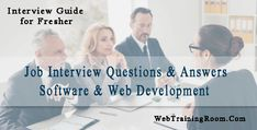 Job interview questions and answers Interview Guide, Common Interview Questions, Interview Questions And Answers, Web Application Development, Software Development, Question And Answer, This Or That Questions, Your Strengths And Weaknesses, Jobs For Freshers