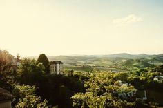 Vignale Monferrato, Piemont. Ein umwerfender Blick aus dem Fenster. Zu Besuch bei Il Mongetto.