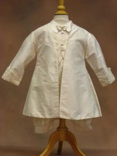 BRONX7Cassiani Couture Boys Silk Christening Outfit  Prince William