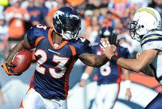 Willis McGahee # 23 Denver Broncos RB  College:Miami