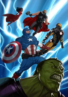 Avengers Assemble! by reau on deviantART