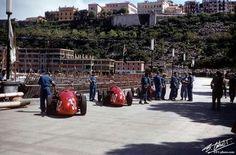 Officine Alfieri Maserati...Maserati 250F...Motor Maserati 250F1 L6 2.5...GP Monaco 1956