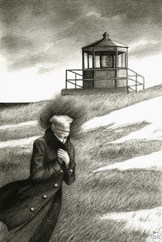 Illustration for The Distance Between Shores - Andrea Kowch