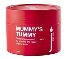 MUMMY'S TUMMY Stretch mark prevention cream. RRP $33.50 AU Pick me… for a healthy and happy mummy to be!  A juicy boost to protect and nourish stretching skin. Quench pregnant belly's moisture cravings with this indulgent stretch mark prevention cream. A delicious combination of organic rosehip, mandarin, Australian kakadu plum and organic shea butter will help to nourish and protect skin prone to stretching.