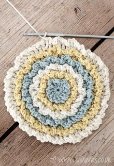 Free pattern for Round Ruffle Cushion @ Lulu Loves