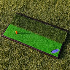 Combining both replica fairway and rough grass this FORB launch pad golf  practice mat by Net 2c1102e93ae