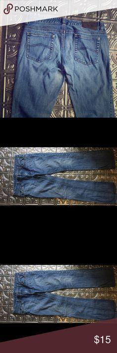 Armani Exchange Jeans Armani Exchange Bootcut Jeans in a medium wash. Slightly worn, more worn on the bottom hems. A/X Armani Exchange Jeans Boot Cut
