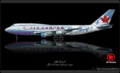 Air Canada / Boeing 747 / Good Old Times / Livery Concept