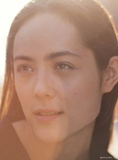 Mixed Beauty, Camilla Engstrom, Natural Beauty, Sunlight, Eye Brows / Garance Doré