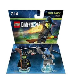 From 6.67:Lego Dimensions: Fun Pack - Wizard Of Oz Wicked Witch Of The West