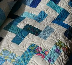 Scrappy Blues by Mountain Quiltworks