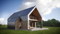 Latest Tips on Metal Building Homes With Garage. Modern Barn House, Barn House Plans, Architecture Durable, Architecture Design, Metal Building Homes, Building A House, Pole Barn Homes, Modern Farmhouse Exterior, Mansions Homes