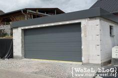 Garagendach abdichten mit VAEPLAN und Dachrandprofil - Vorbereitung für ein Gründach