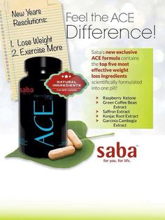 Smooth ENERGY? Mood ENHANCER? Appetite CONTROL? Want LBS. & inches to MELT?!? TRY SABA ACE! Only $1 a capsule! 30 day money back guarantee! www.facebook.com/sabaforme