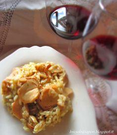 Briciole di Sapori           : Risotto ai funghi porcini freschi