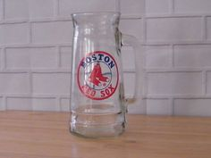 Boston Red Sox Glass Beer Stein Tankard Major League Baseball MLB   Sports Mem, Cards & Fan Shop, Fan Apparel & Souvenirs, Baseball-MLB   eBay!