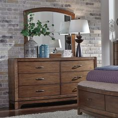 Liberty Furniture Avalon III 6 Drawer Dresser | from hayneedle.com