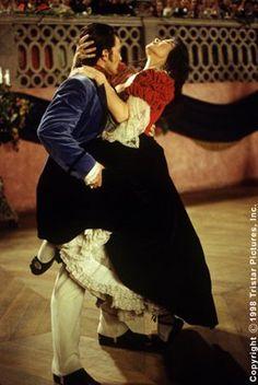"Antonio Banderas & Catherine Zeta Jones in ""The Mask of Zorro"""