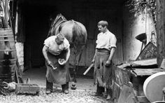 R Charnisky- This picture reminds me of joe because he is a blacksmith. He works hard at his job and this picture shows them working hard.