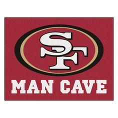 San Francisco 49ers Man Cave Area Rug