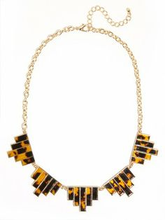 tortoise deco necklace / baublebar
