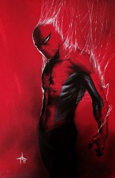 Spider-Man by Gabrielle Del'Otto.