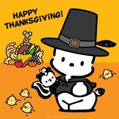 Pochacco Happy Thanksgiving