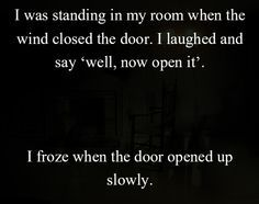 Two sentences Horror Stories