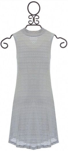 dd54560a388f PPLA Light Gray Dress for Tweens (Size SM 7 8)