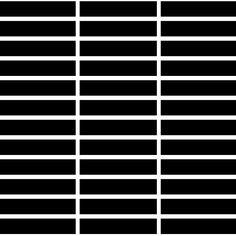 "Ceramic & Stone Tiles - Super Black 1"" x 3"" Mosaic Matte/Mat (CASTP6002YM) by Casa Roma ® | Swift Current, SK | Decor Complete"
