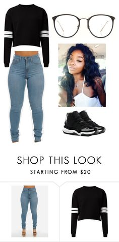 Untitled #1057 by jblizz on Polyvore featuring Linda Farrow and NIKE